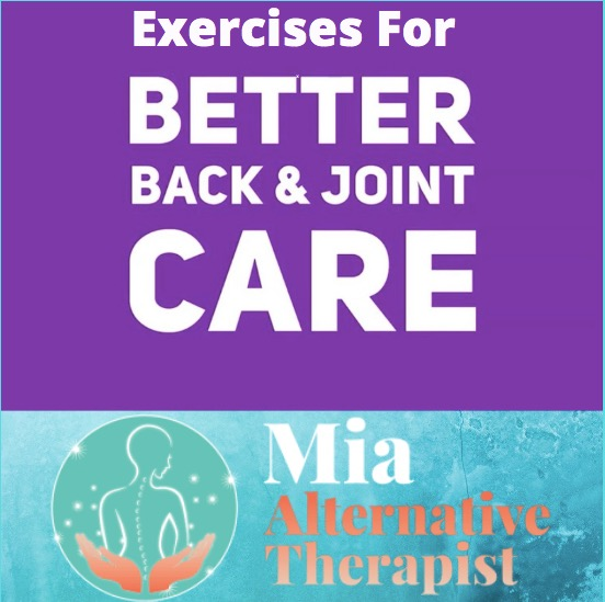 exercises for better back & joint care